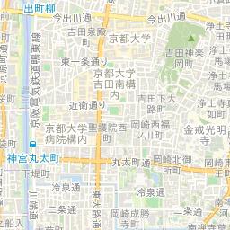 京都市中京区の地価公示マップ・...